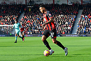 Joshua King (17) of AFC Bournemouth during the Premier League match between Bournemouth and Arsenal at the Vitality Stadium, Bournemouth, England on 25 November 2018.