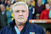 Sheffield Wednesday manager Steve Bruce before the EFL Sky Bet Championship match between Norwich City and Sheffield Wednesday at Carrow Road, Norwich, England on 19 April 2019.