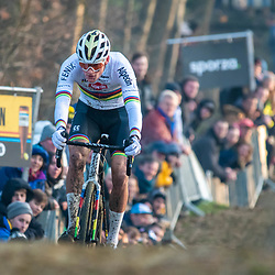 2020-01-01 Cycling: dvv verzekeringen trofee: Baal: Determined to win, Mathieu van der Poel one more time unbeatable