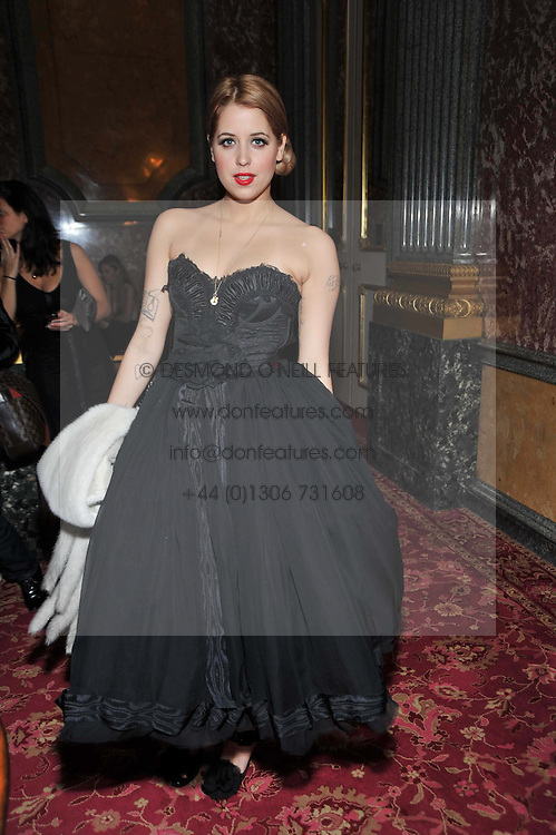 PEACHES GELDOF at a party to celebrate 300 years of Tatler magazine held at Lancaster House, London on 14th October 2009.