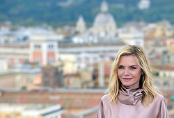 US actress Michelle Pfeiffer attends a photocall for the European premiere of Disney's dark fantasy adventure film 'Maleficent : Mistress of Evil' on October 7, 2019 in Rome, Italy. Photo by ABACAPRESS.COM