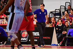 Bristol Flyers head coach, Andreas Kapoulas  - Photo mandatory by-line: Joe Meredith/JMP - 18/11/2016 - BASKETBALL - SGS Wise Arena - Bristol, England - Bristol Flyers v Surrey Scorchers - British Basketball League