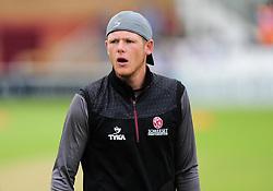 Michael Leask of Somerset looks on.  - Mandatory by-line: Alex Davidson/JMP - 15/07/2016 - CRICKET - Cooper Associates County Ground - Taunton, United Kingdom - Somerset v Middlesex - NatWest T20 Blast