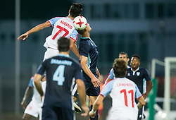 Masoud Shojaei of Panionios GSS during 2nd Leg football match between ND Gorica (SLO) and Panionios GSS (GRE) in 2nd Qualifying Round of UEFA Europa League 2017/18, on July 20, 2017 in Nova Gorica, Slovenia. Photo by Vid Ponikvar / Sportida