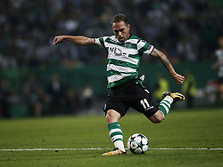 October 31, 2017 - Lisbon, Portugal - Sporting's forward Bruno Cesar in action during Champions League 2017/18 match between Sporting CP vs Juventus FC, in Lisbon, on October 31, 2017. (Credit Image: © Carlos Palma/NurPhoto via ZUMA Press)
