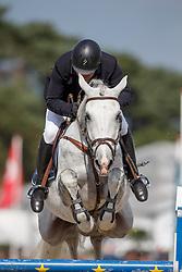 Van Der Schans Wout Jan, (NED), Eloma's Blue Sfn<br /> Final 6 years old horses<br /> FEI World Breeding Jumping Championship <br /> Lanaken - Zangersheide 2015<br /> © Hippo Foto - Dirk Caremans<br /> 20/09/15