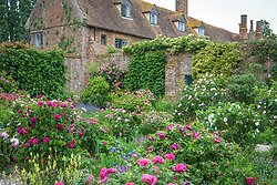 The Rose Garden at Sissinghurst Castle