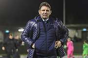 Carlisle United manager Chris Beech during the EFL Sky Bet League 2 match between Forest Green Rovers and Carlisle United at the New Lawn, Forest Green, United Kingdom on 28 January 2020.
