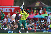 Andile Phehlukwayo during the International T20 match between South Africa and England at Supersport Park, Centurion, South Africa on 16 February 2020.