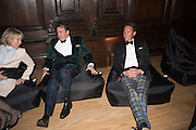 ZARA GORDON LENNOX; ROBERT WILSON; TORQUHIL IAN CAMPBELL, DUKE OF ARGYLL, Perdurity: A Moving Banquet of Time. Royal Salute curates a timeless evening at Hampton Court Palace with Marcos Lutyens, 2 June 2015.