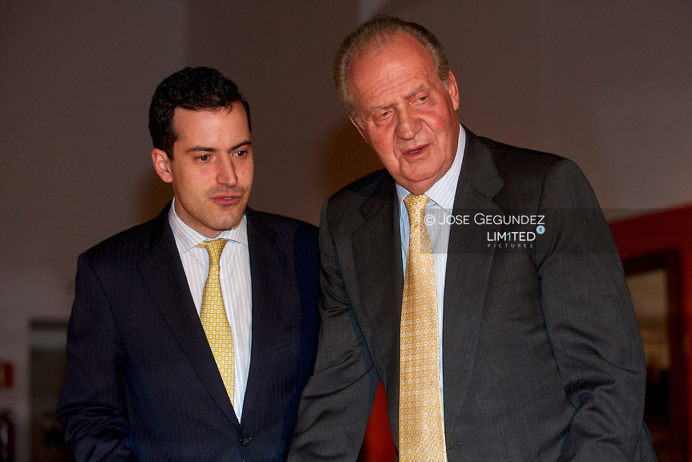 "King Juan Carlos and Queen Sofia attend the Opening of the exhibition ""Maranon and his time (1887-1960)."