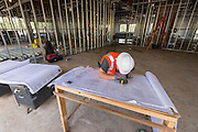 Construction at Mark White Elementary School, April 15, 2016.