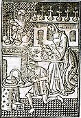 Britain, UK, Bartholomeus Anglicus, 1203-1272 AD