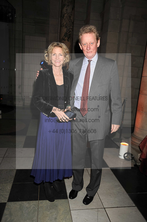 MR & MRS DAVID VEREY at a reception to celebrate the opening of 'Magnificence Of The Tsars' the new exhibition at the V&A held on 9th December 2008.