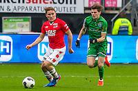 ALKMAAR - 26-02-2017, AZ - PEC Zwolle, AFAS Stadion, AZ speler Jonas Svensson