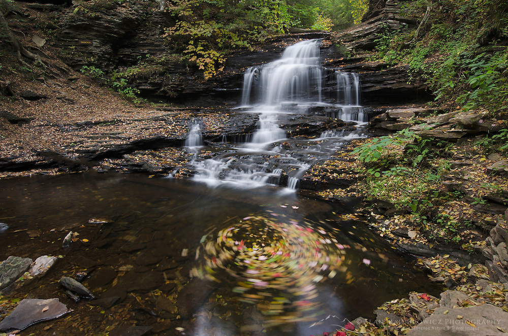 Onondaga Falls, Ricketts Glen Pennsylvania