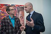 JIM SHAW; GODFREY WORSDALE ( BALTIC ) JIM SHAW AT SIMON LEE GALLERY.- 12 BERKELEY ST. London. 11 February 2013.