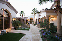 Palm Springs exterior pathway