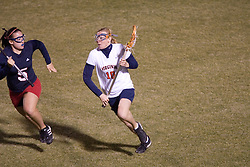 Virginia Cavaliers M Kaitlin Duff (10)<br /> <br /> The Virginia Cavaliers Women's Lacrosse team defeated the Richmond Spiders 13-5 at Kl?ckner Stadium in Charlottesville, VA on February 28, 2007.