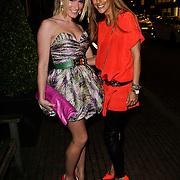 NLD/Amsterdam/20120308 - Presentatie nieuwe collectie voor Louis Vuitton, Nikkie Plessen en Danie Bles