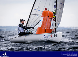 From 9 to 16 September 2018, the Tokyo 2020 Olympic Sailing Competition venue in Enoshima, Japan, will host sailors for the first event of the 2019 World Cup Series. More than 450 sailors from 45 nations will race in the 10 Olympic events.  &copy;PEDRO MARTINEZ/SAILING ENERGY/WORLD SAILING<br /> 11 September, 2018.
