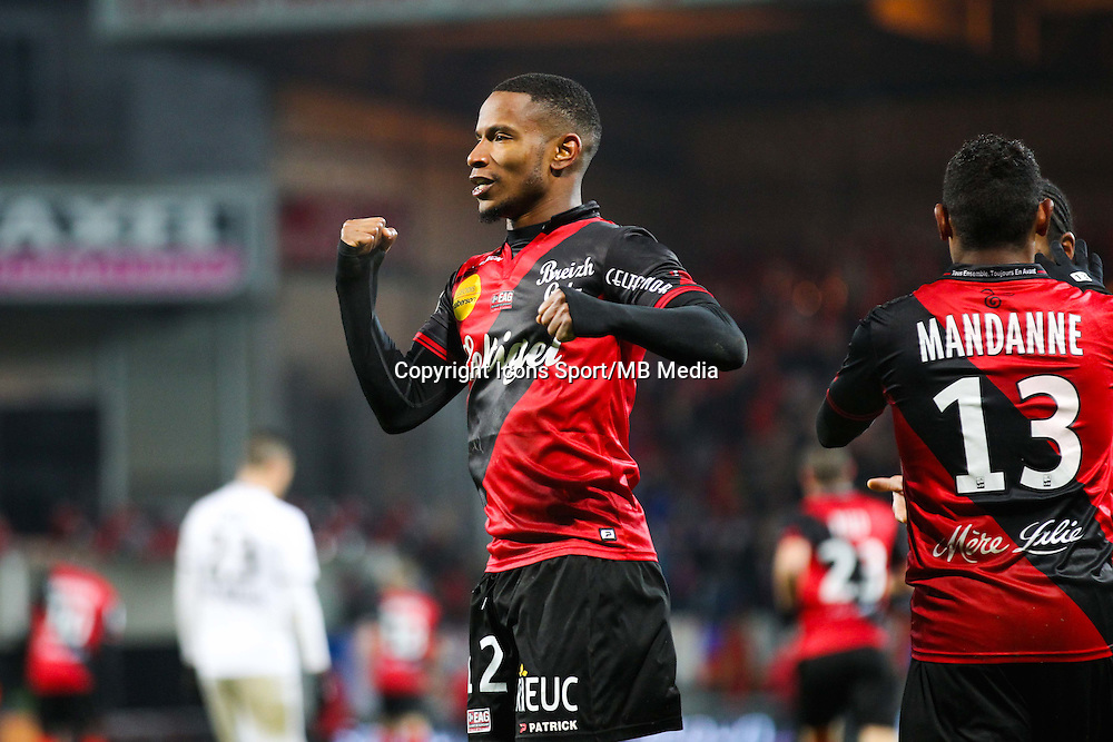 Joie Claudio BEAUVUE  - 03.12.2014 - Guingamp / Caen - 16eme journee de Ligue 1 <br /> Photo : Vincent Michel / Icon Sport