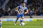 Brighton central midfielder, Beram Kayal (7) during the Sky Bet Championship match between Brighton and Hove Albion and Queens Park Rangers at the American Express Community Stadium, Brighton and Hove, England on 19 April 2016. Photo by Phil Duncan.