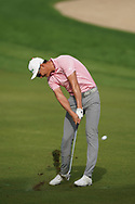 Haotong Li (CHN) in action during the second round of the Omega Dubai Desert Classic, Emirates Golf Club, Dubai, UAE. 25/01/2019<br /> Picture: Golffile | Phil Inglis<br /> <br /> <br /> All photo usage must carry mandatory copyright credit (© Golffile | Phil Inglis)