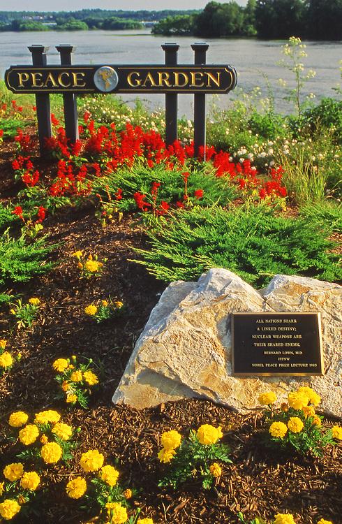 Peace Garden, Riverfront Park, Harrisburg, Pennsylvania