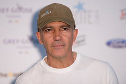 Spanish actor Antonio Banderas presents the 'Starlite Gala' 2013 at the Museo del Traje in Madrid, Spain on Tuesday June 25, 2013. Photo by Oscar Gonzalez / i-Images<br /> SPAIN OUT