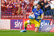 Leeds United goalkeeper Francisco Casilla (13) during the EFL Sky Bet Championship match between Barnsley and Leeds United at Oakwell, Barnsley, England on 15 September 2019.