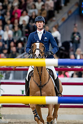 DEUSSER Daniel (GER), Scuderia 1918 Tobago Z<br /> Göteborg - Gothenburg Horse Show 2019 <br /> Longines FEI World Cup™ Jumping Final III - round B<br /> Int. jumping competition over two rounds not against the clock with jump-off in case of point egality (1.50 - 1.60 m)<br /> Longines FEI Jumping World Cup™ Final and FEI Dressage World Cup™ Final<br /> 06. April 2019<br /> © www.sportfotos-lafrentz.de/Stefan Lafrentz