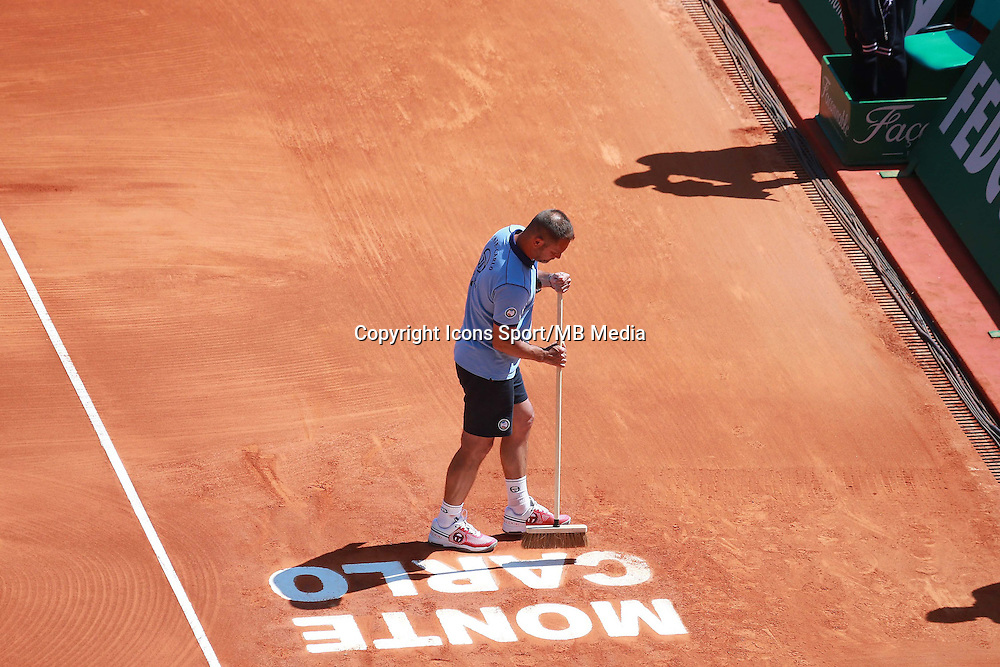Illustration Monte Carlo / Court  - 13.04.2015 - Tournoi de Monte Carlo 2015 - Masters 1000  <br />