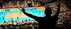 18.09.2011, Stadthalle, Wien, AUT, CEV, Europaeische Volleyball Meisterschaft 2011, Finale, Italien vs Serbien, im Bild Feature Volleyball Fan // during the european Volleyball Championship Final Italy vs Serbia, at Stadthalle, Vienna, 2011-09-18, EXPA Pictures © 2011, PhotoCredit: EXPA/ M. Gruber