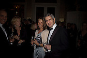 TANIA FOSTER-BROWN AND SIR STUART ROSE, ' Top Tips for Girls' Kate Reardon - book launch party<br />Claridge's Hotel, Brook Street, London,28 January 2008. -DO NOT ARCHIVE-© Copyright Photograph by Dafydd Jones. 248 Clapham Rd. London SW9 0PZ. Tel 0207 820 0771. www.dafjones.com.