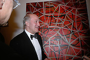 Maurice Cockrill, The Royal Academy Schools dinner and auction. Royal Academy. London. 27 March 2007.  -DO NOT ARCHIVE-© Copyright Photograph by Dafydd Jones. 248 Clapham Rd. London SW9 0PZ. Tel 0207 820 0771. www.dafjones.com.