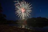 Pitman 4th of July Fireworks - 2012