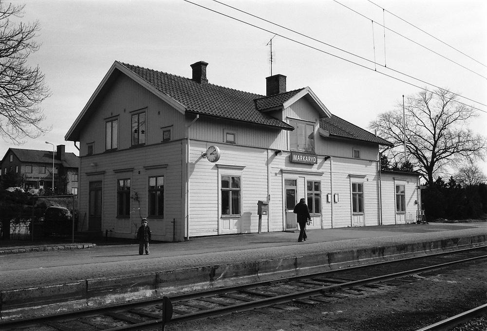 Markaryds järnvägssation