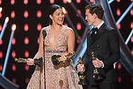 04.03.2018; Hollywood, USA: OSCAR TELECAST<br /> for the 90th Annual Academy Awards at the Dolby&reg; Theatre in Hollywood.<br /> Mandatory Photo Credit: AMPAS/Newspix International<br /> <br /> IMMEDIATE CONFIRMATION OF USAGE REQUIRED:<br /> Newspix International, 31 Chinnery Hill, Bishop's Stortford, ENGLAND CM23 3PS<br /> Tel:+441279 324672  ; Fax: +441279656877<br /> Mobile:  07775681153<br /> e-mail: info@newspixinternational.co.uk<br /> Usage Implies Acceptance of Our Terms &amp; Conditions<br /> Please refer to usage terms. All Fees Payable To Newspix International