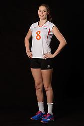 28-06-2013 VOLLEYBAL: NEDERLANDS MEISJES VOLLEYBALTEAM: ARNHEM <br /> Selectie Jeugd Oranje meisjes seizoen 2013-2014 / Romee Polman<br /> ©2013-FotoHoogendoorn.nl