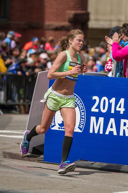 2014 Boston Marathon: Laura Portis