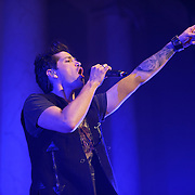 WASHINGTON, D.C. - November 7th, 2012 - Danny O'Donoghue of The Script performs at DAR Constitution Hall in Washington, D.C.  The band's recently released third album, titled #3, reached number two in the UK charts and number 13 in the US Billboard 200. (Photo by Kyle Gustafson/ For The Washington Post)
