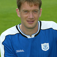 St Johnstone photocall 2004-2005 season.<br />Ian Maxwell<br /><br />Picture by Graeme Hart.<br />Copyright Perthshire Picture Agency<br />Tel: 01738 623350  Mobile: 07990 594431