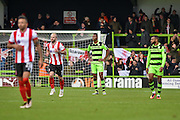 Forest Green Rovers Defender, Ethan Pinnock (16) during the Vanarama National League match between Forest Green Rovers and Lincoln City at the New Lawn, Forest Green, United Kingdom on 19 November 2016. Photo by Adam Rivers.
