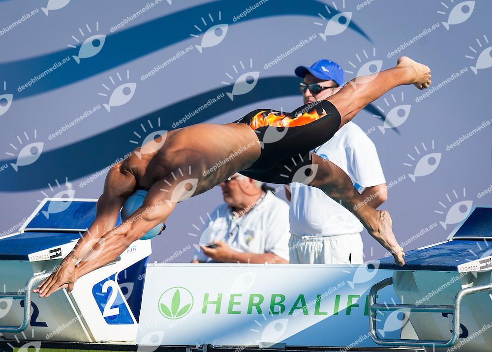 MAGNINI Filippo Italy<br /> 100 Freestyle Men<br /> 50 Settecolli Trofeo Internazionale di nuoto 2013<br /> swimming<br /> Roma, Foro Italico  13 - 15/06/2013<br /> Day03<br /> Photo Pasquale Mesiano/Deepbluemedia/Insidefoto