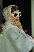 London, England. 15 September 2016. <br /> <br /> A tantalising display of design from the Middle East including ladies's clothing, jewellery and headscarves as well as mens' clothing on the 9th floor of London's City Hall overlooking the River Thames.<br /> ©Peter Hogan/Exclusivepix Media