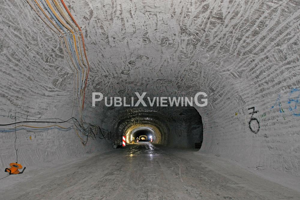 Unter Tage im Bergwerk zur Erkundung eines Endlagers f&uuml;r hochradioaktiven Atomm&uuml;ll in Gorleben<br /> <br /> Ort: Gorleben<br /> Copyright: Andreas Conradt<br /> Quelle: PubliXviewinG