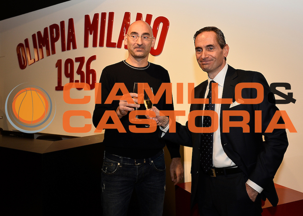 DESCRIZIONE : Milano EA7 Emporio Armani Olimpia Milano evento BMW<br /> GIOCATORE : Flavio Portaluppi Maurizio Ambrosino<br /> CATEGORIA :<br /> SQUADRA : EA7 Emporio Armani Olimpia Milano <br /> EVENTO : EA7 Emporio Armani Olimpia Milano evento BMW<br /> GARA : EA7 Emporio Armani Olimpia Milano evento BMW<br /> DATA : 10/11/2015 <br /> SPORT : Pallacanestro <br /> AUTORE : Agenzia Ciamillo-Castoria/R.Morgano<br /> Galleria : EA7 Emporio Armani Olimpia Milano<br /> Fotonotizia : EA7 Emporio Armani Olimpia Milano evento BMW<br /> Predefinita :