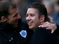 Photo: Steve Bond/Richard Lane Photography. Leicester City v Peterborough United. Coca-Cola Football League One. 20/12/2008. Darren Ferguson before kick off