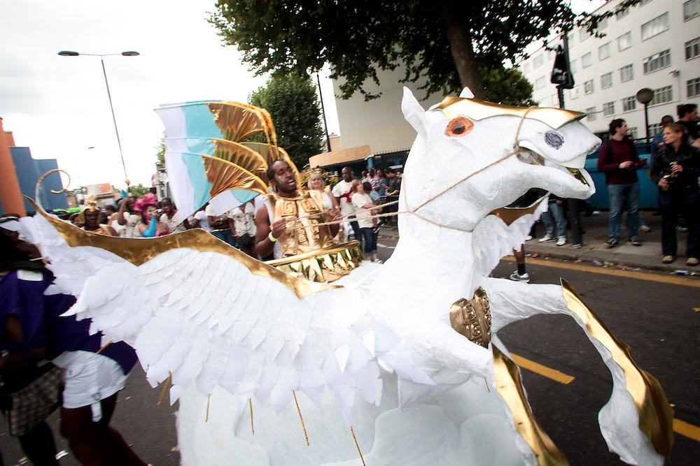 Unison sponsored carnival float 2011
